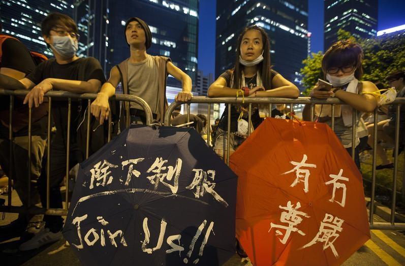 «Укол зонтиком»: Протесты в Гонконге