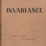Invariance - Происхождение и функция партийной формы