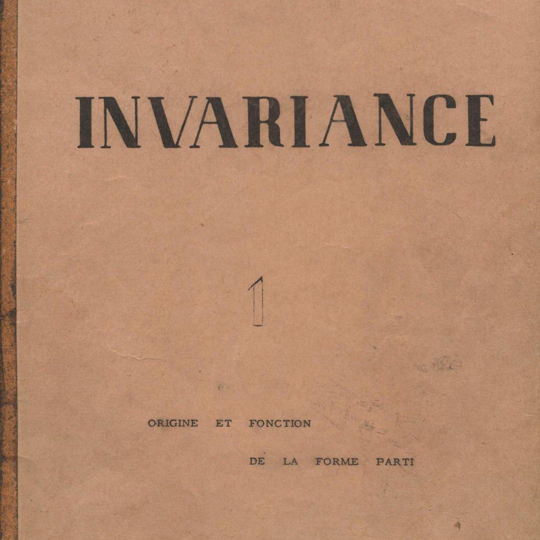 Invariance — Происхождение и функция партийной формы